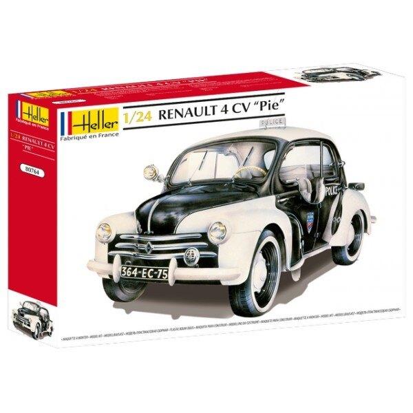4 CV Renault pie 1/24