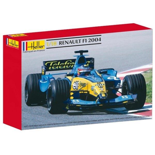 f1 renault 2004 1/18