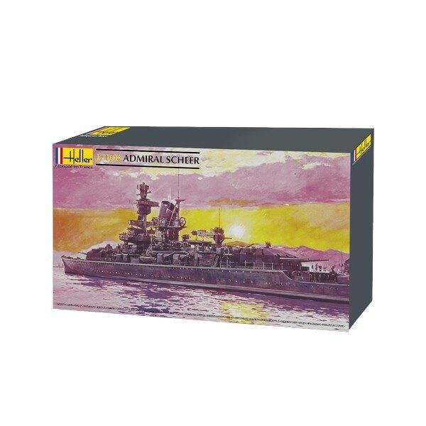 admiral scheer 1/400