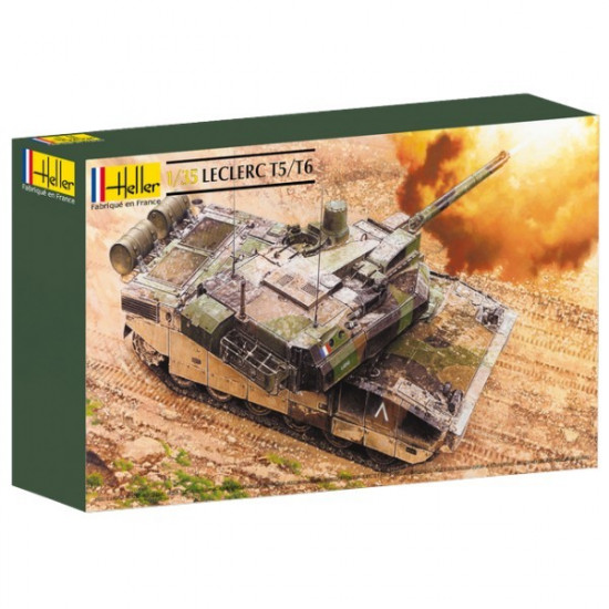 heller 81142 char leclerc t5 t6 1 35 maquette militaire le plus grand choix avec. Black Bedroom Furniture Sets. Home Design Ideas
