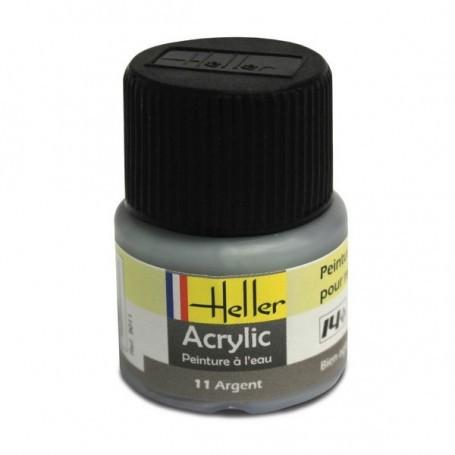Argent Acrylique 12ml
