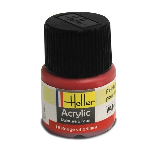 Rouge Vif brillant acrylique 12ml