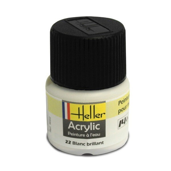 Blanc Brillant acrylique 12ml