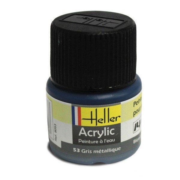 Gris Metallique Acrylique 12ml