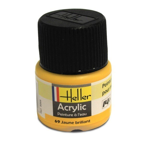 Gloss yellow acrylic 0.5 fl.oz