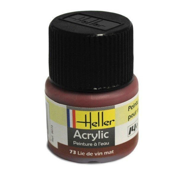 Lie de Vin Mat Acrylique 12ml
