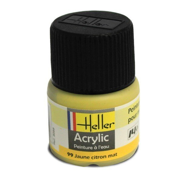 Jaune Citron Mat acrylique 12ml