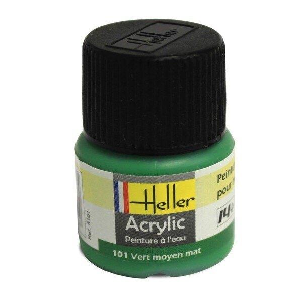 Vert Moyen Mat acrylique 12ml