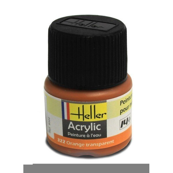 Orange Transparent Acrylique 12ml