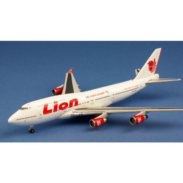 Lion Airlines Boeing 747-412 PK- LHF