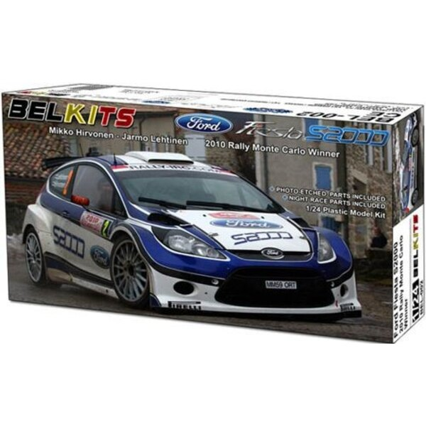 Ford Fiesta S2000 Rally