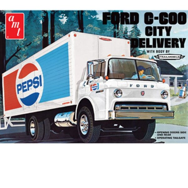 Ford 600 Pepsi Truck