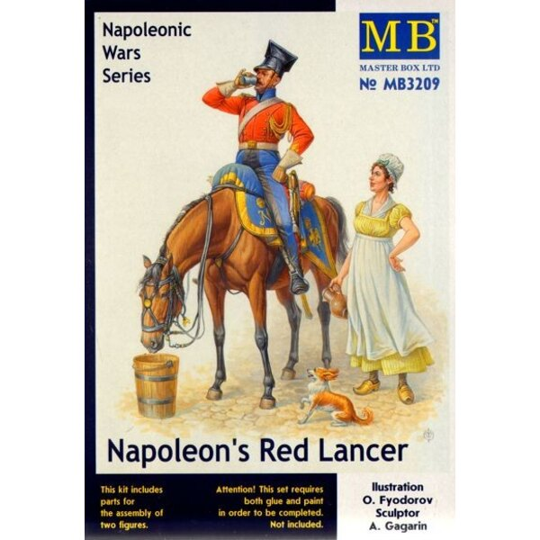 Napoleons Red Lancer- Napoleonic Wars Series