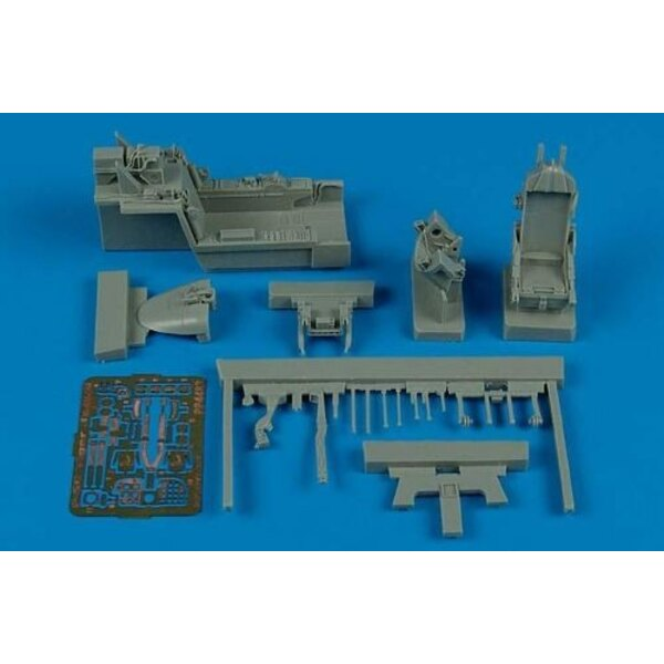 Northrop F-5E Tiger II cockpit set (designed to be assembled with model kits from AFV Club)
