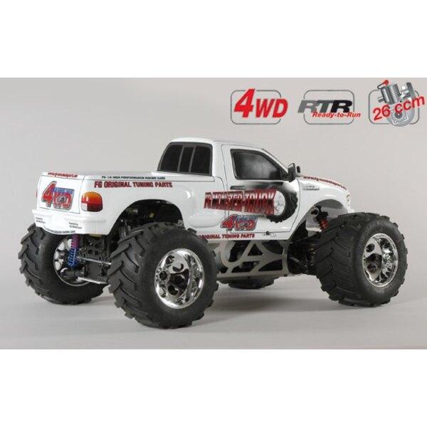 M.Truck WB535 4wd RTR white
