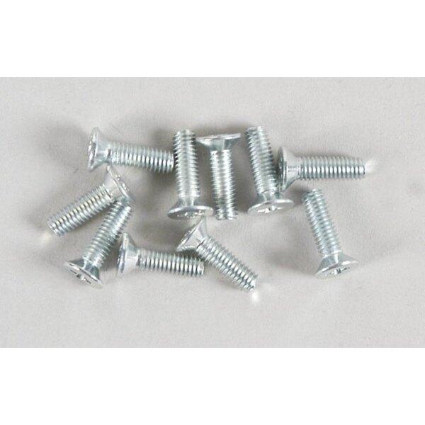 Btr screws M3x10mm (10p )