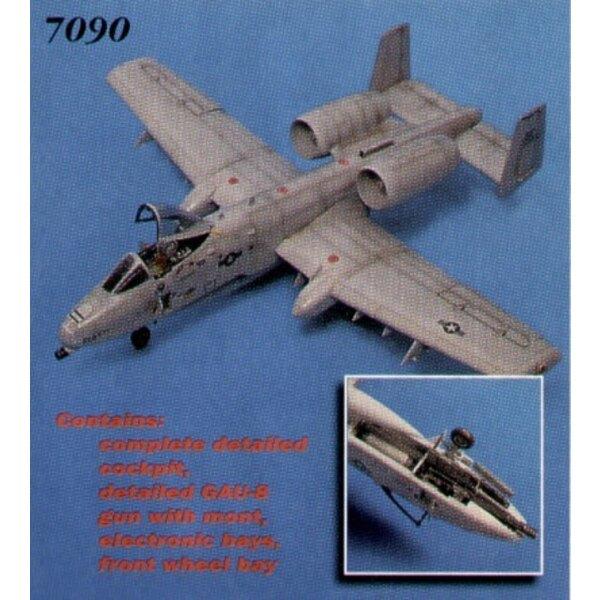 détails de Fairchild A-10A Thunderbolt (pour maquettes Italeri et Revell)