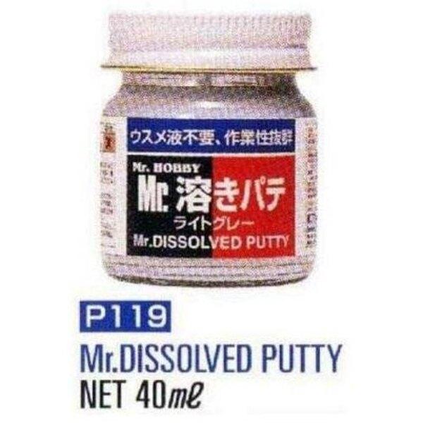 dissolvant putty