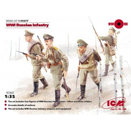 WWI russe d'infanterie (figures 4 x)