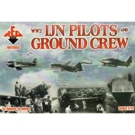 Ijn Pilotes Et Le Personnel Au Sol De La 2ème Gm