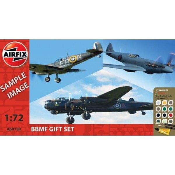 Battle Of Britain Memorial Flight (BBMF) Collection (cadeau ou de démarrage avec peintures, pinceau et ciment poly)