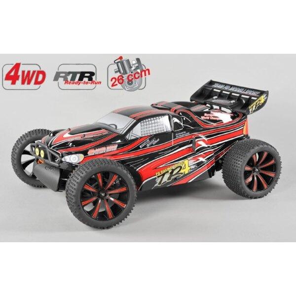 TR4 4WD RTR Truggy peint