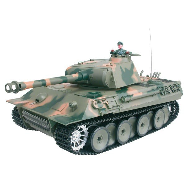 Tanque de RC 1/16 GERMAN PANTHER COMPLETO (SOUND / HUMO)