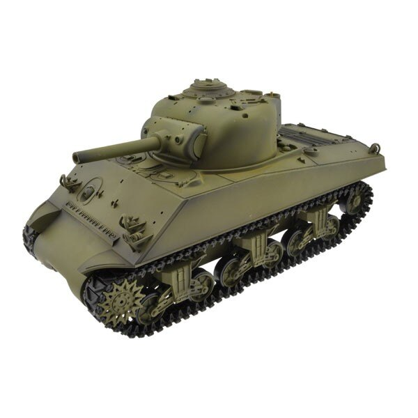 RC Panzer 1/16 M4A3 SHERMAN COMPLETE (SOUND / RAUCH)