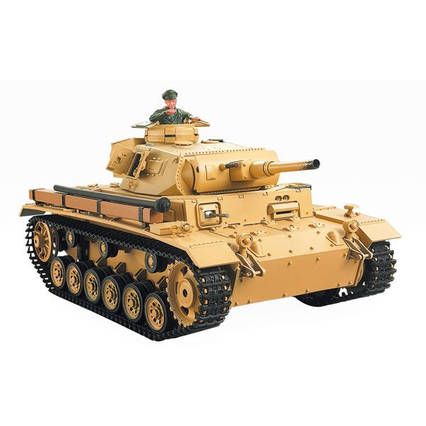 RC tank 1/16 TAUCHPANZER AUSF III. H COMPLETE (SOUND / SMOKE)