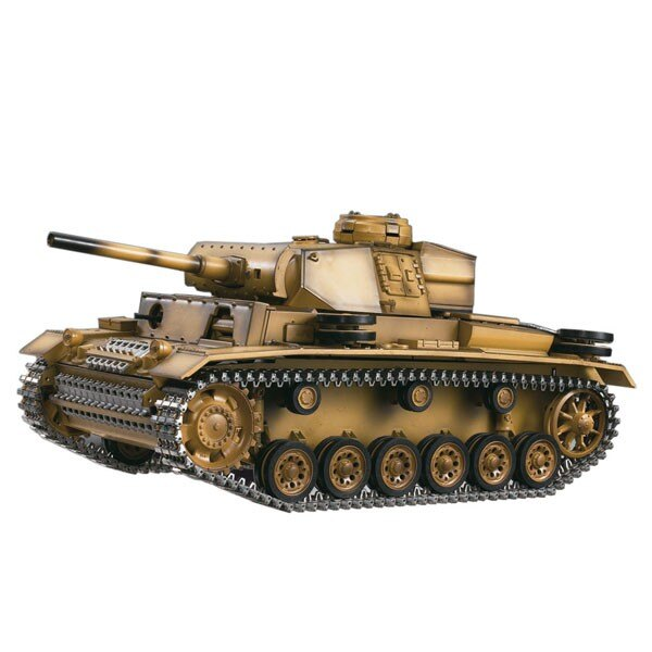 CHAR RC2.4GHZ 1/16 PANTHER III METAL + (SOUND / SMOKE)