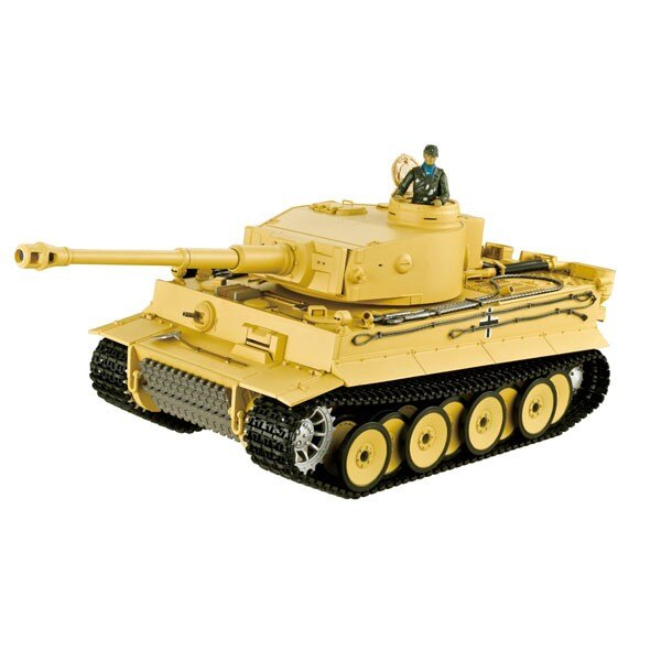 CHAR RC2.4GHZ 1/16 TIGER 1 FIRST VER. (BRUIT/FUMEE)