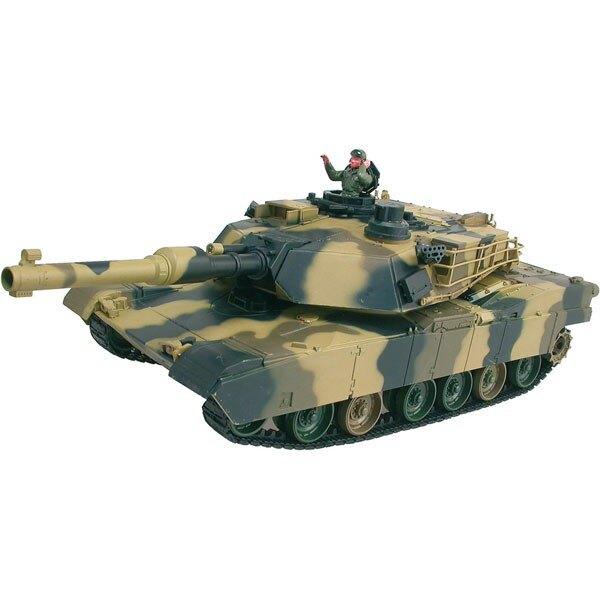 CHAR DASSAUT RC 1/24 M1A2 ABRAMS COMPLET