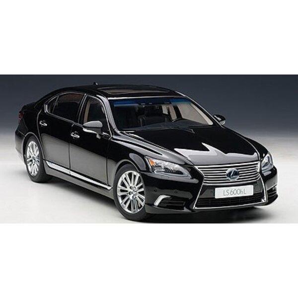 Black Lexus LS600hL