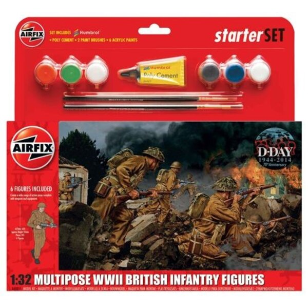 WWII British Infantry Multiple-up Gift Set