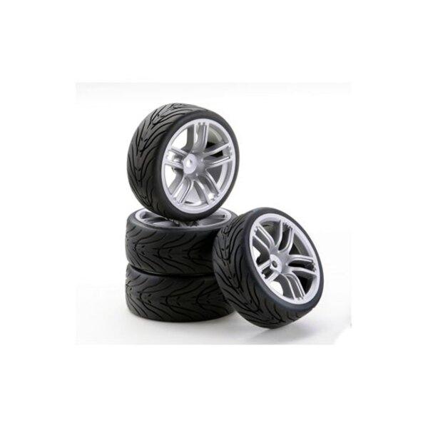 Wheels GT silver style