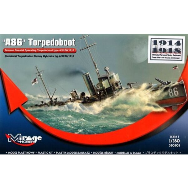 A86 German Torpedo-boat type A / III / 56/1916