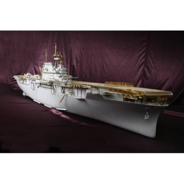 USS Hornet CV-8 DX Pack (designed To Be Farming with Merit and Trumpeter kits)