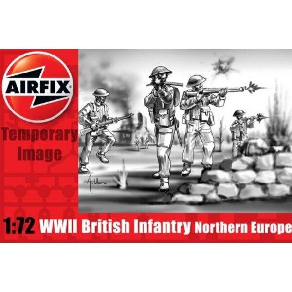 Infanterie britannique de la 2ème GM Europe septentrionale