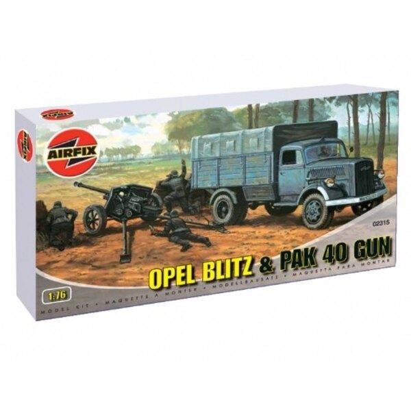 Opel Blitz et canon de campagne PAK