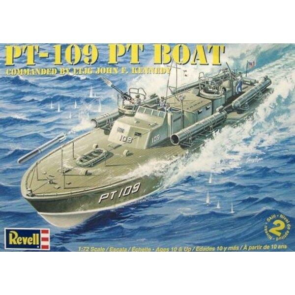 PT-109 Commanded by LTJG John F Kennedy