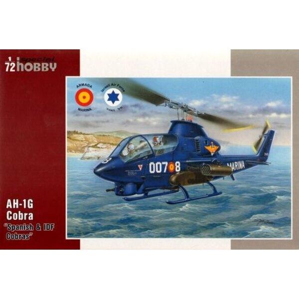 Bell AH-1G Cobra Spanish & IDF Cobras
