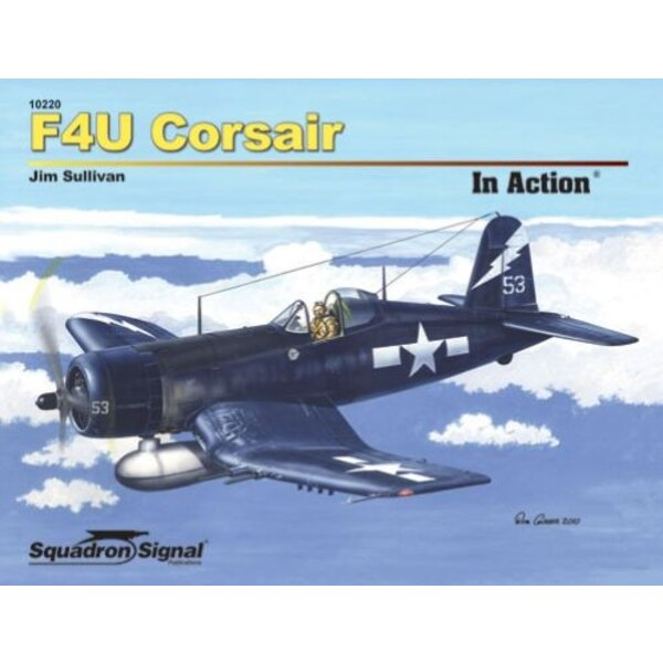 Livre Vought F4U Corsair (in action series) Now updated and expanded, Squadrons just released new edition of the F4U Corsair in