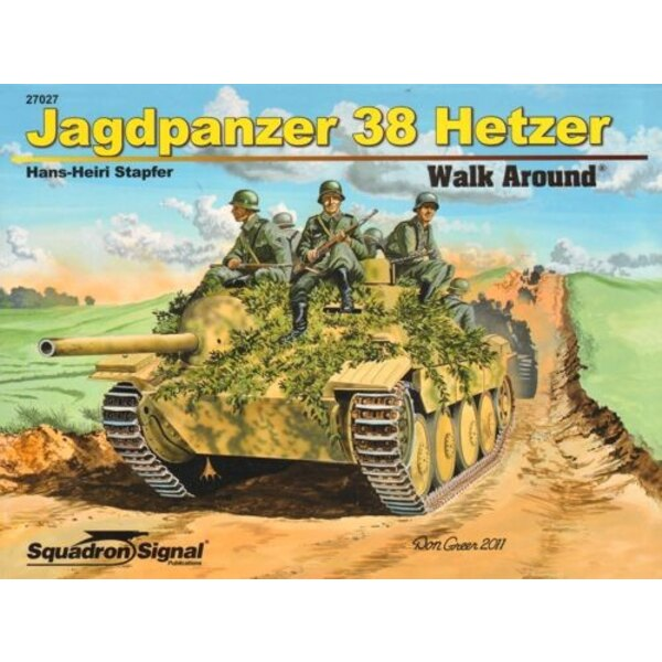 Livre Jagdpanzer 38(t) Hetzer (Walk Around Series)