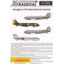 décal douglas c-47 international liveries (7) french marine 41-18487/87 escadrille 56.s 1968 - luftw