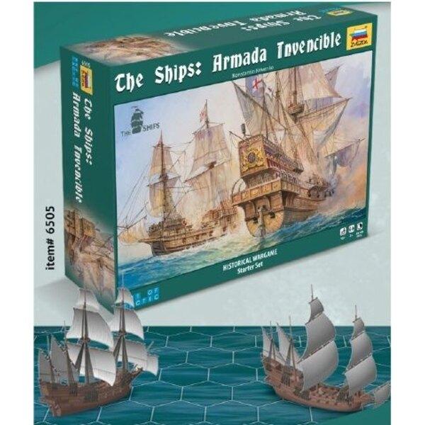 Armada Invencible - Wargame Histórico - Arte de Táctica