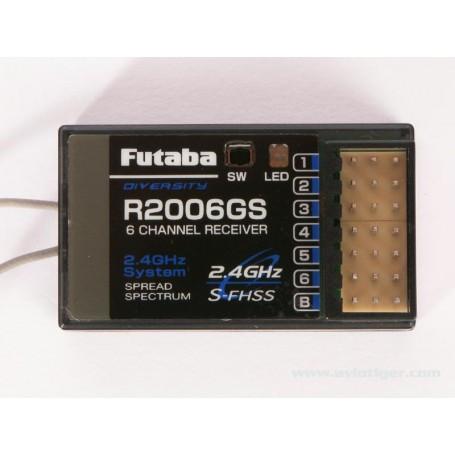 RECEPTEUR R2006GS 2.4G S-FHSS Futaba 01000658