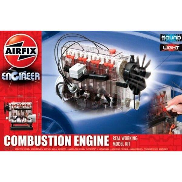 Moteur à combustion Intérieure. Maquette fonctionnelle. Avec lumière et son. Ce fantastique moteur est un excellent moyen d'appr