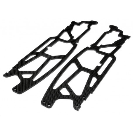 CHASSIS CARBONE 3MM SAVAGE