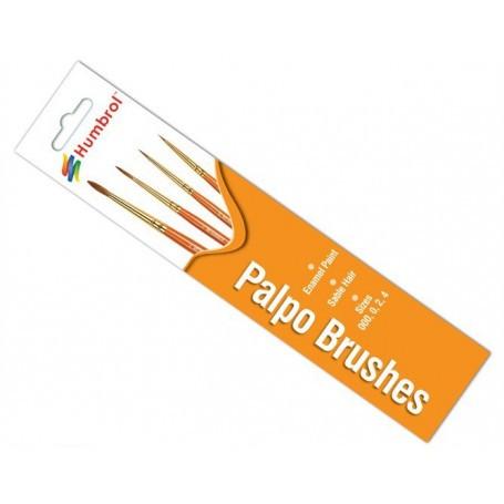 000/0/2/4 Palpo Sable Brush Pack Humbrol HMB-4250