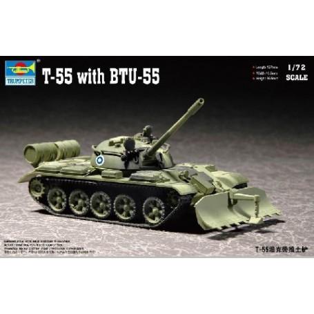 Échelle 1:72 véhicule militaire CHAR DE COMBAT Die-Cast Model T54 Tchécoslovaques armée